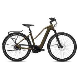 VÉLO ÉLECTRIQUE 2021 FLYER E-Bike Upstreet4 7.23 MIX Marron