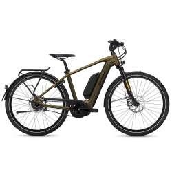 VÉLO ÉLECTRIQUE 2021 FLYER E-Bike Upstreet4 7.23 Marron Homme Version Dual Battery