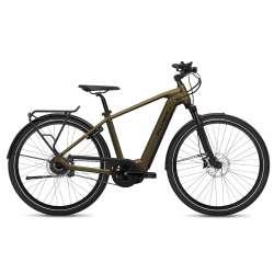 VÉLO ÉLECTRIQUE 2021 FLYER E-Bike Upstreet4 7.23 Marron Homme