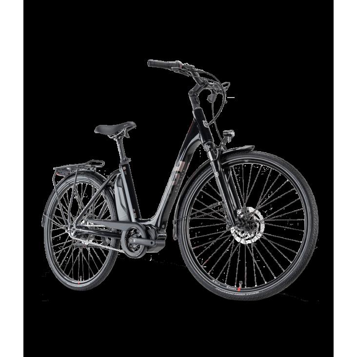 Vélo Électrique 2021 Husqvarna Eco City 2 Noir
