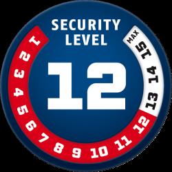 Security Level 12 ABUS GRANIT™ PLUS 470/150HB300 + EAZY KF