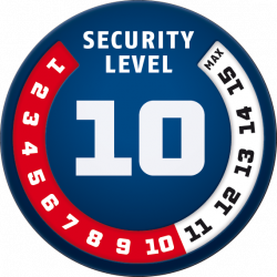 Security Level 10 - Antivol ABUS Bordo Alarm 6000A