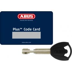 Antivol ABUS Plus Code Card & Key