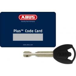Antivol ABUS Plus Code Card & Key