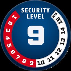Security Level 9 - Antivol ABUS BORDO COMBO™ 6100