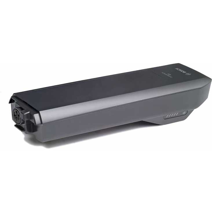 Batterie Porte-Bagage BOSCH PowerPack 400 Rack Anthracite