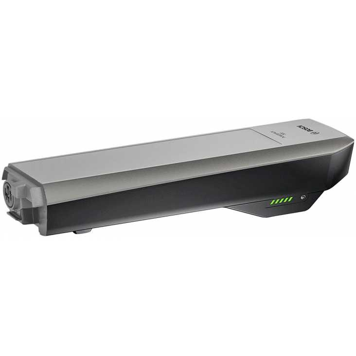 Batterie Porte-Bagage BOSCH PowerPack 500 Rack Platine