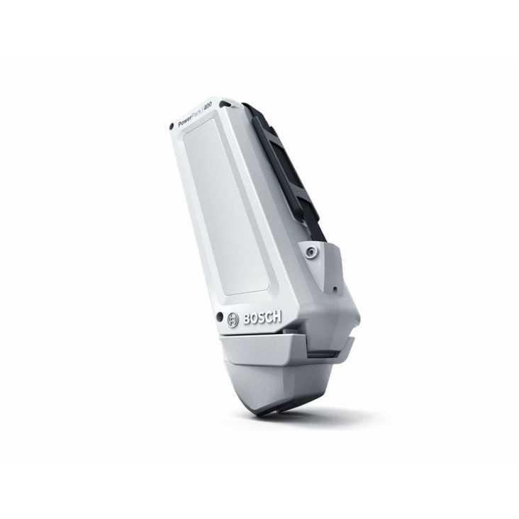 Batterie Cadre BOSCH PowerPack 400 Classic Blanc
