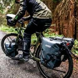 ORTLIEB Sacoche Étanche Back-Roller Classic Monté Sur Vélo