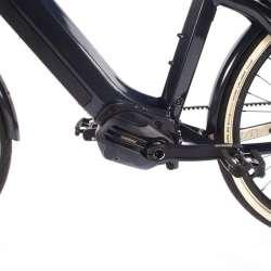 2021 O2feel iSwan City Boost 7.1 Gris Anthracite - Moteur Pédalier Shimano Steps E6100