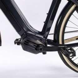 2021 O2feel iSwan City Boost 8.1 Gris Anthracite - Moteur Pédalier Shimano Steps E6100