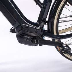 2021 O2feel iSwan Urban Boost 6.1 Gris Anthracite - Moteur Pédalier Shimano Steps E6100