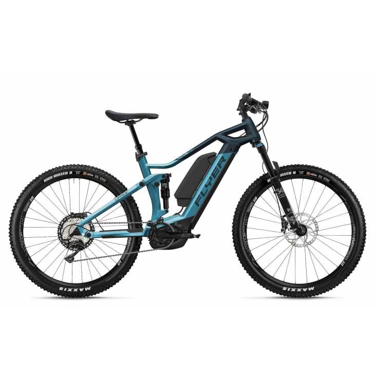 VTT ÉLECTRIQUE 2021 FLYER E-Bike Uproc3 4.10 Bleu