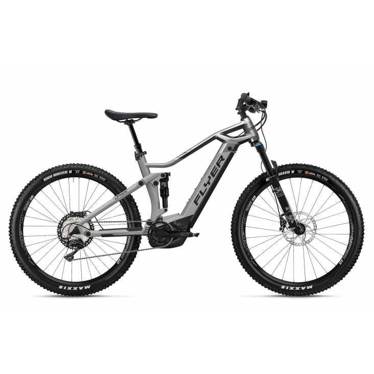 VTT ÉLECTRIQUE 2021 FLYER E-Bike Uproc3 8.70 Gris