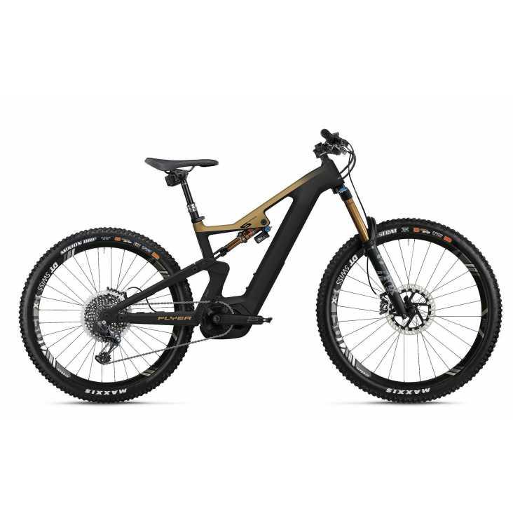 VTT ÉLECTRIQUE 2021 FLYER E-Bike Uproc6 6.50 Noir/Or