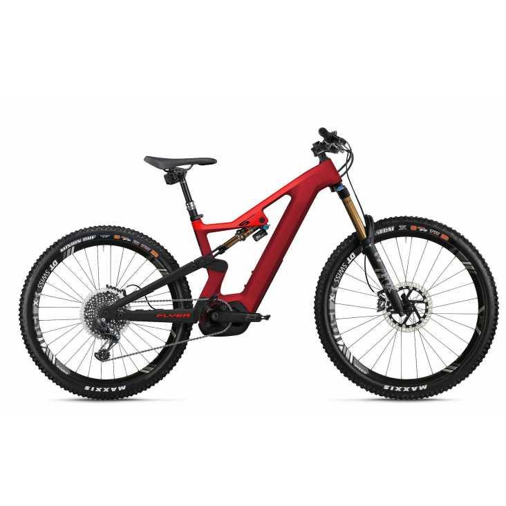 VTT ÉLECTRIQUE 2021 FLYER E-Bike Uproc6 6.50 Rouge