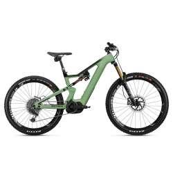 VTT ÉLECTRIQUE 2021 FLYER E-Bike Uproc6 8.70 Vert/Noir