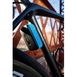 Antivol ABUS Alarmbox Bleu Accroché Vélo