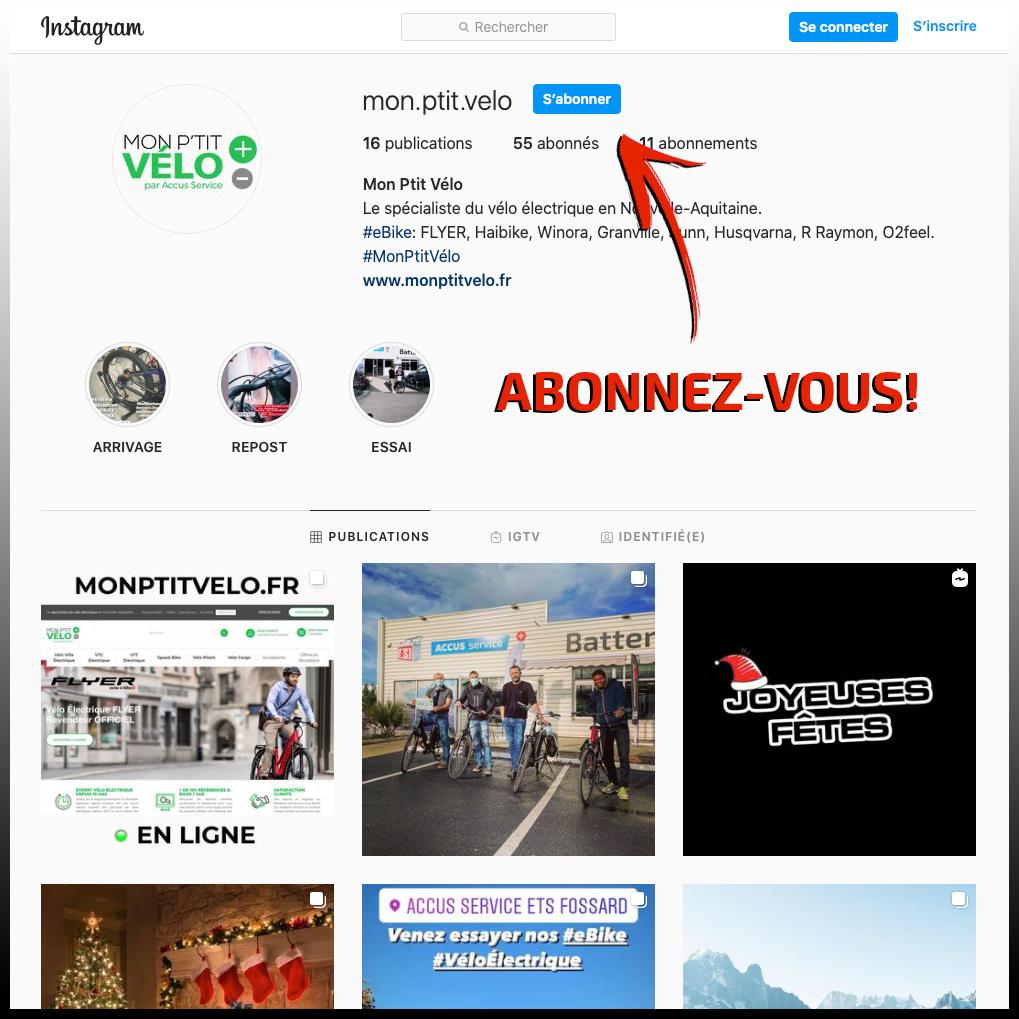 image abonnement instagram